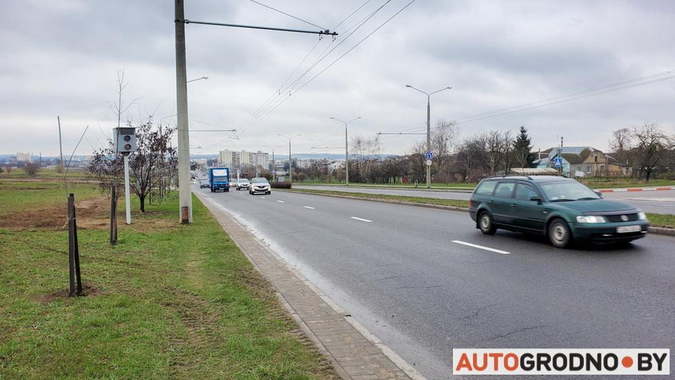Камера скорости на Маслакова в Гродно