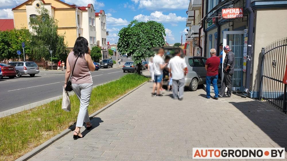 Отказали тормоза у авто в Гродно